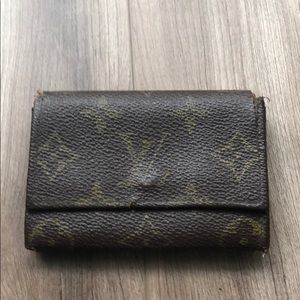 Louis Vuitton Monogram Wallet #203